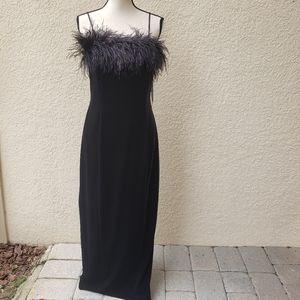 Alex Evenings Full Length  Velvet Formal Dress 12